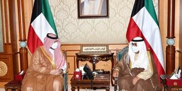 ولیعهد کویت پیام همتای سعودی خود درباره تحولات منطقه را دریافت کرد
