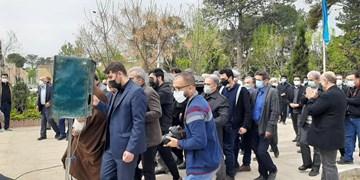 پیکر «احمد گنجی» در قطعه هنرمندان به خاک سپرده شد