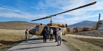 باد شدید حریف اورژانس هوایی تبریز نشد