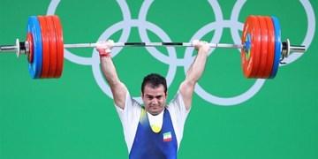 مدال نقره سهراب مرادی در وزنهبرداری آسیا