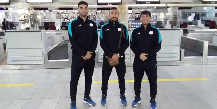 مسابقات جودو قهرمانی آسیا  گروه اول اعضای تیم ملی  وارد قرقیزستان شدند