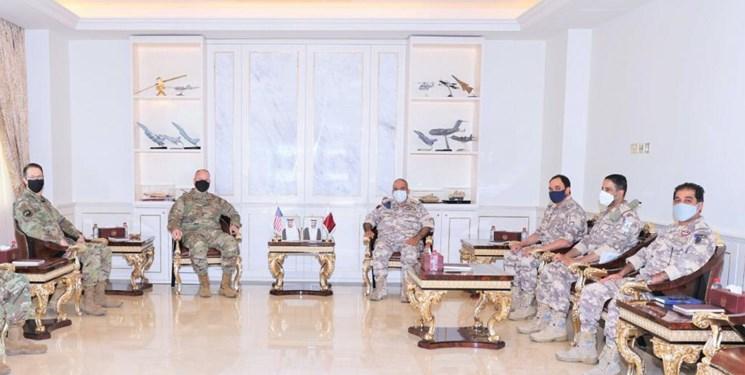 دیدار مقامات ارشد نظامی آمریکا و قطر در دوحه