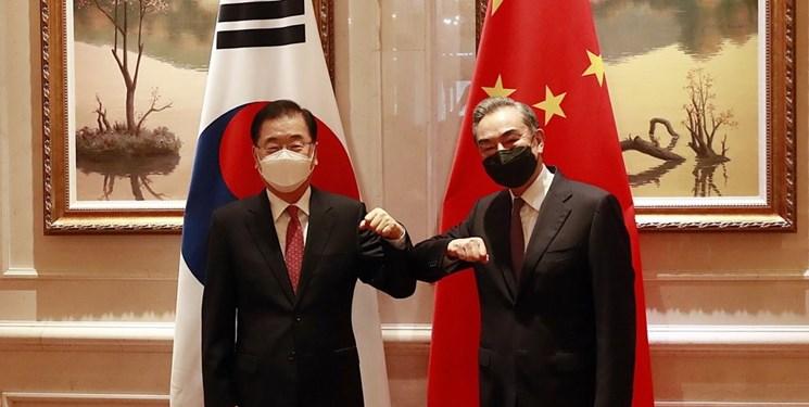دیدار وزرای خارجه چین و کرهجنوبی با محور مسائل شبه جزیره کره