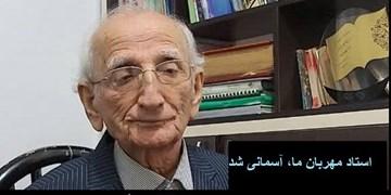 استاد علی محمودی استاد ادب و دانش آسمانی شد