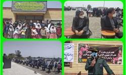افتتاح یک باب مدرسه خیرساز در فاریاب
