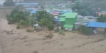 سیل و رانش زمین در اندونزی و تیمور شرقی بیش از 30  قربانی گرفت +فیلم