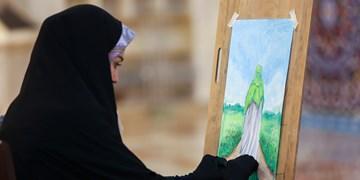 خلق ۶۰۰ اثر هنری در حرم امام رضا (ع) و اهدای آثار به زائران+عکس