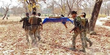 کشته شدن 22 نیروی امنیتی هند در حمله «مائوئیستها»