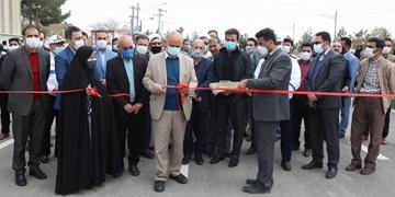 بولوار الزهرا(س) با اعتباری بالغ بر ۱۲ میلیارد تومان در حاشیه شهر مشهد افتتاح شد