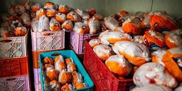تنظیم بازار با  ۱۷۰۰  تُن مرغ