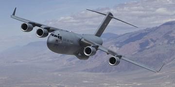 فرود هواپیمای نظامی آمریکا در اوکراین همزمان با تشدید تنش کییف و مسکو