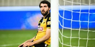 سوپر لیگ یونان| پیروزی آ.اک با حضور انصاری فرد