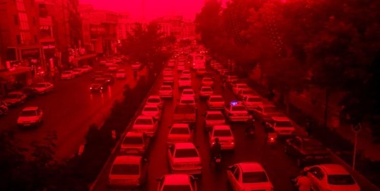 تهران دوباره قرمز شد