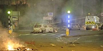 برگزیت زخم کهنه ایرلند شمالی را باز کرد؛ حمله معترضان به مأموران با بمب دستی