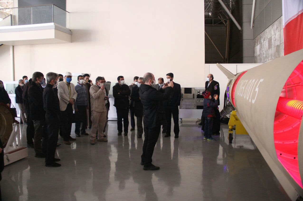 14000116000619 Test NewPhotoFree - بازدید اساتید دانشگاه شریف از دستاوردها و توانمندیهای نیروی هوافضای سپاه