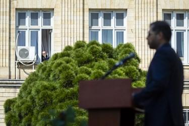 در حاشیه  اولین نشست خبری سخنگوی وزارت امور خارجه در سال 1400