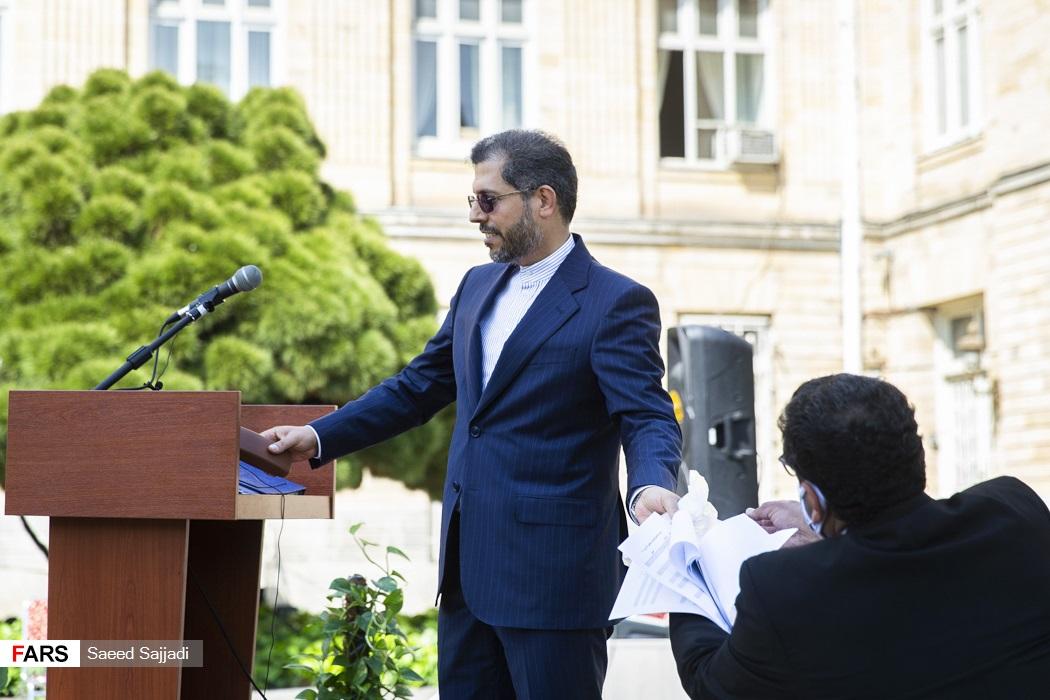 سعید خطیبزاده سخنگوی وزارت امور خارجه  در پایان اولین نشست خبری در سال 1400
