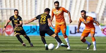 لیگ برتر فوتبال ||| سایپا 0 - 1 سپاهان