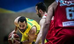 شکست نفت آبادان در گام نخست نیمه نهایی لیگ برتر بسکتبال ایران