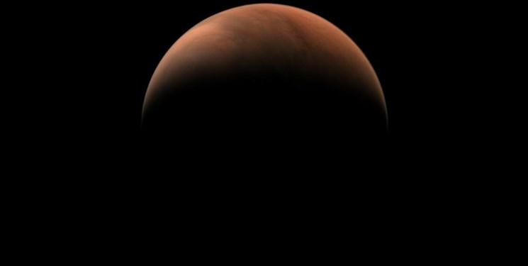 تصاویر جدید کاوشگر چین از سیاره سرخ
