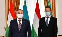 امضای اسناد همکاری رهاورد سفر وزیر خارجه مجارستان به قزاقستان
