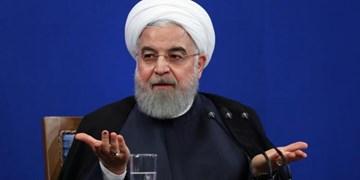 روحانی: بگذارید مثل ۱۰۰ روز اول تحریمها را بشکنیم/ غنیسازی ۶۰ درصدی پاسخی به شرارتها بود