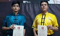قهرمانی ووشوکاران قم در مسابقات بینالمللی چین