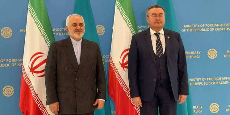 ظریف: امیدواریم مذاکرات برای ترسیم خط مبدأ در خزر هر چه سریعتر به نتیجه برسد