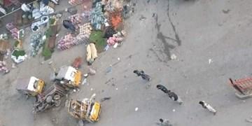 انفجار در شرق افغانستان 2 کشته و ۱۸ زخمی برجای گذاشت+ فیلم