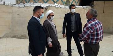 گنبد امامزاده حسن الافطس فراهان مرمت میشود