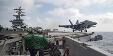 بازگشت ناو «هواپیمابر آیزنهاور» آمریکا به آبهای منطقه