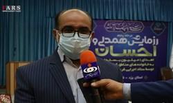 فیلم| توزیع 16 هزار بسته معیشتی توسط ستاد اجرای فرمان امام در یزد