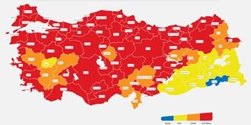 ترکیه بازهم رکورد خود در ابتلای روزانه به کرونا را شکست