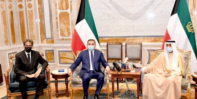 دیدار نخستوزیر لیبی با امیر کویت و ولیعهد ابوظبی