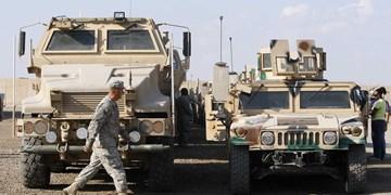 حمله راکتی به کاروان تروریستهای آمریکایی در شرق سوریه