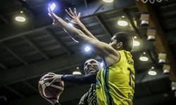 نخستین پیروزی نفت آبادان در گام دوم نیمه نهایی لیگبرتر بسکتبال ایران