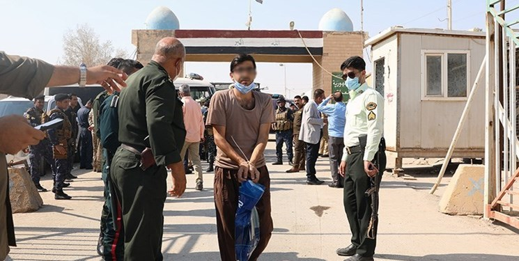 انتقال ۴۵ محکوم ایرانی از عراق به ایران