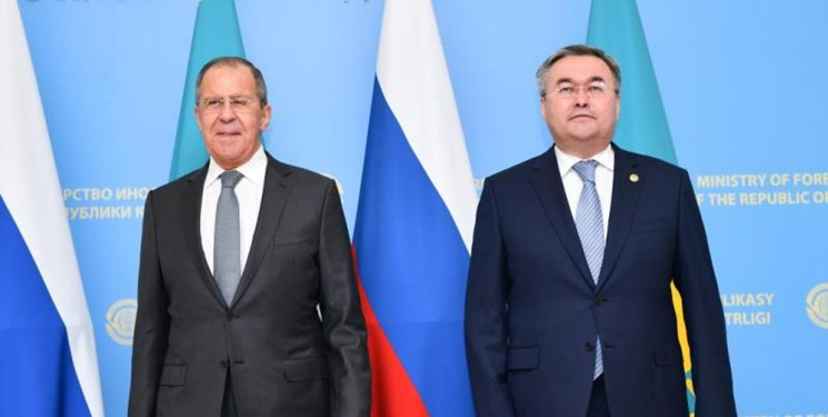 وزرای خارجه قزاقستان و روسیه در «نورسلطان» دیدار کردند
