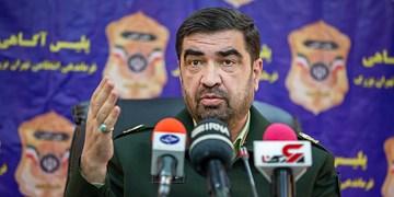 نشست خبری رئیس پلیس آگاهی پایتخت