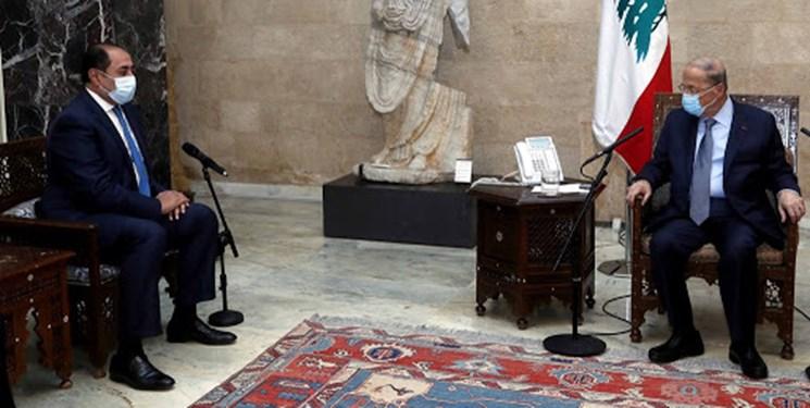 استقبال رئیس جمهور لبنان از میانجیگری اتحادیه عرب