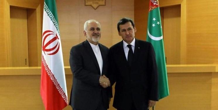 بهرهبرداری غیرنظامی از دریای خزر از جمله محورهای گفتوگوی ظریف با همتای ترکمنستانی در عشق آباد