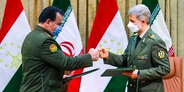 دور دوم مذاکرات ||| وزرای دفاع ایران و تاجیکستان