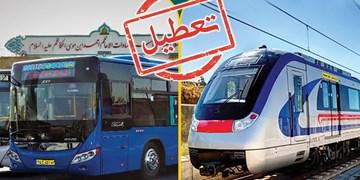 محدودیت سیستم حملونقل عمومی از شنبه/ بازرسیهای میدانی شبانهروزی شد