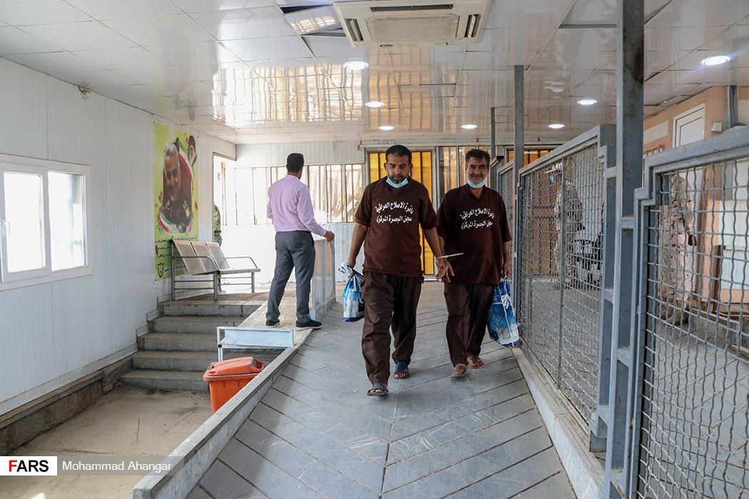 انتقال شهروندان  ایرانی از زندان های عراق به مرز شلمچه