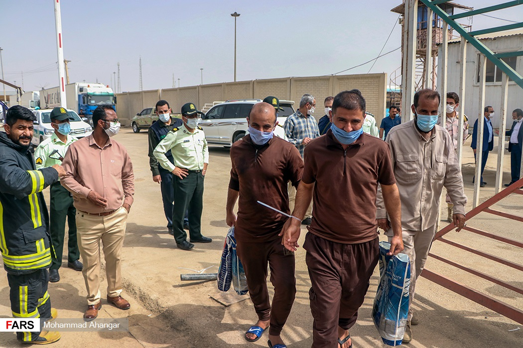 آزادی 40 شهروند ایرانی از زندان های عراق
