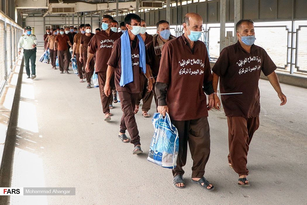 ۴۰ نفر از ایرانیانی که به حبس محکوم بودند تحویل دولت جمهوری اسلامی شدند