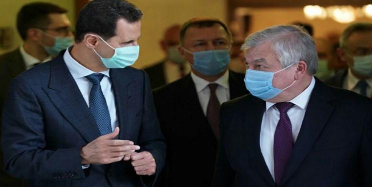 سوريه،بشار،اسد،فرستاده،تأكيد،جمهور،مسائل،ديدار