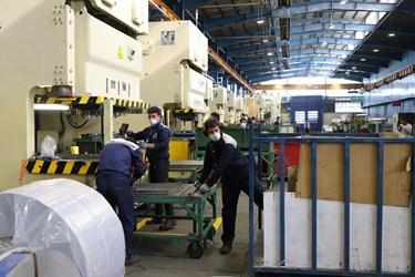فعالیت و رونق تولید در کارخانجات گروه صنعتی انتخاب