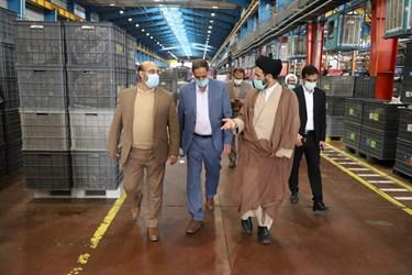 حضور  اعضای کمیسیون صنایع مجلس درگروه صنعتی انتخاب