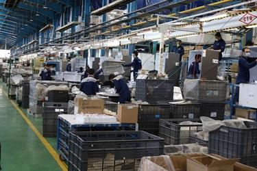 رونق تولید لوازم خانگی در کارخانجات گروه صنعتی انتخاب